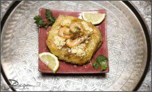 Image du plat Marocain Pastilla aux fruits de mer