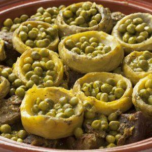 Image de boeufavec haricots etartichauts