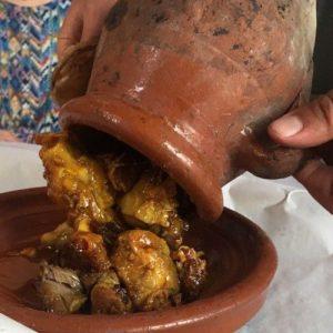 Image de la Tanjia, plat Marocain traditionnel